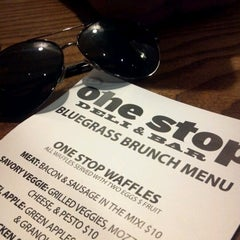 Photo taken at The One Stop Deli Stop by Justin C. on 10/28/2012