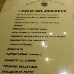 Photo taken at Medioevo by Manola G. on 10/13/2012