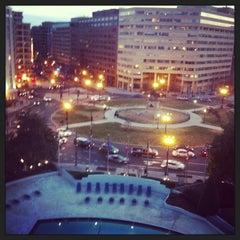 Photo taken at Washington Plaza Hotel by Jerome N. on 3/23/2013