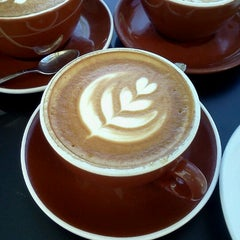 Photo taken at Caffé Calabria by Pawl E. on 10/13/2012