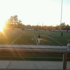 Photo taken at Joe Walton Stadium by Allison W. on 10/9/2012