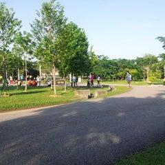 Photo taken at Hutan Bandar Mutiara Rini by NeEruza O. on 10/28/2012