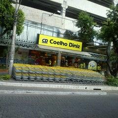 Photo taken at Supermercado Coelho Diniz by Sara D. on 10/27/2012