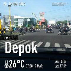 Photo taken at Perempatan Ring Road Gejayan by JeniRatnasari on 3/19/2014