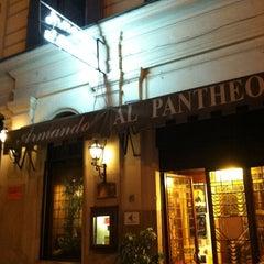 Photo taken at Armando al Pantheon by Jared T. on 9/26/2012