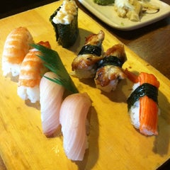 Photo taken at Sushi Katsu by Danielle C. on 7/12/2014