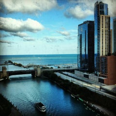 Photo taken at Sheraton Chicago Hotel & Towers by Claire L. on 9/26/2012