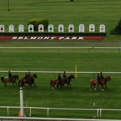 Photo taken at Belmont Park Racetrack by Susan N. on 6/8/2013