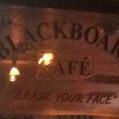 Photo taken at Blackboard Cafe by Jacob W. on 7/4/2013
