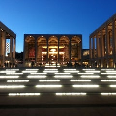 Photo taken at Lincoln Center for the Performing Arts by Aash J. on 1/10/2013