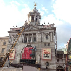 Photo taken at Victoria Palace Theatre by Ariele M. on 5/6/2013
