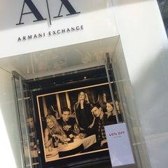 Photo taken at A|X Armani Exchange by MikiT on 11/28/2013