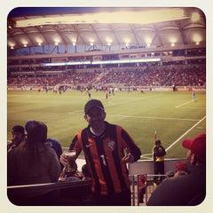 Photo taken at Rio Tinto Stadium by Thiago M. on 4/21/2013