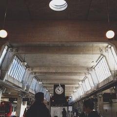 Photo taken at Uxbridge London Underground Station by Zana F. on 9/27/2012