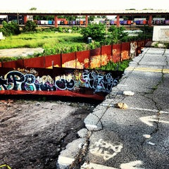 Photo taken at Atlanta BeltLine Corridor under Edgewood Ave. by Joey T. on 5/22/2013