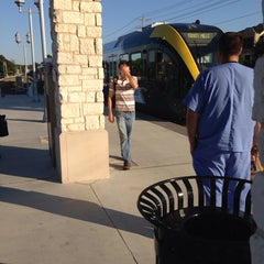 Photo taken at DCTA MedPark Station (A-train) by Steve L. on 6/11/2014