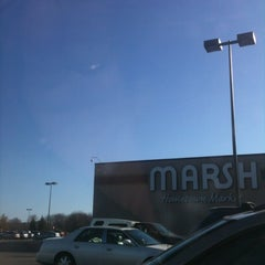 Photo taken at Marsh Supermarket by Monfreda on 1/19/2013