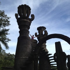 Photo taken at Jardin Edward James Xilitla by Chilibeer M. on 12/26/2012