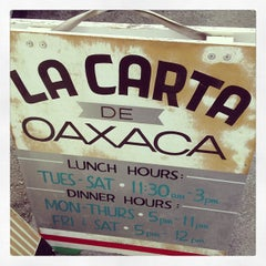 Photo taken at La Carta De Oaxaca by Rob H. on 6/9/2013