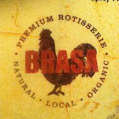 Photo taken at Brasa Premium Rotisserie by Deirdre M. on 2/16/2013