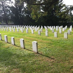Photo taken at Soldiers' National Cemetery by Stephanie P. on 10/1/2012