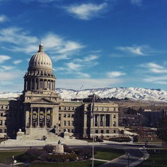 Photo taken at Boise City Hall by Ronnie M. on 3/9/2015