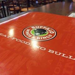 Photo taken at Buffalo Wings & Rings by John K. on 8/26/2015