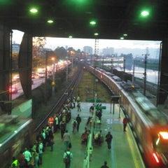 Photo taken at Estação Santo Amaro (CPTM) by Fernando M. on 2/7/2013