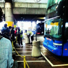 Photo taken at Megabus Stop - Washington, DC by Stanley X. on 10/2/2012