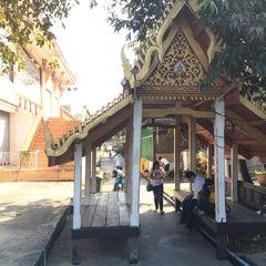 Photo taken at วัดทองใน (Wat Thongnai) by Angkana E. on 1/1/2015