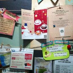 Photo taken at Starbucks by Ehan O. on 12/8/2012