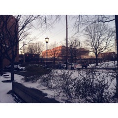 Photo taken at T. Edward Temple Building - VCU by Will F. on 1/23/2014