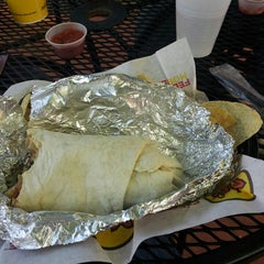 Photo taken at Moe's Southwest Grill by Marion on 4/25/2013