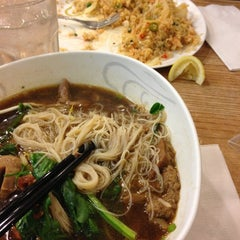 Photo taken at Bangkok Noodles by Jeremy J. on 11/23/2012