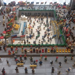 Photo taken at The LEGO Store by Kim S. on 5/28/2013