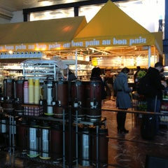 Photo taken at Au Bon Pain by Jessica V. on 12/30/2012
