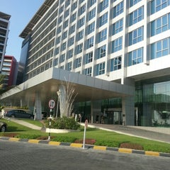 Photo taken at Park Rotana Abu Dhabi by Eissa a. on 10/2/2012