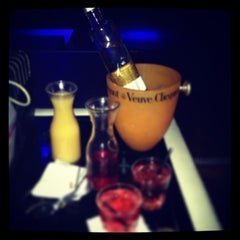 Photo taken at Lux Ultra Lounge by Kelsey W. on 12/31/2012