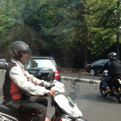 Photo taken at Jl. Denpasar by Lucky Y. on 11/2/2012