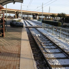 Photo taken at Bush Turnpike Station (DART Rail) by Joel W. on 12/26/2012