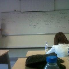 Photo taken at İzmir Ekonomi Üniversitesi M Blok by Umur M. on 11/29/2012