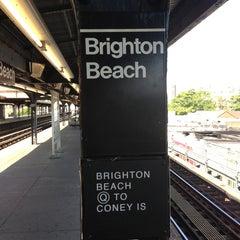 Photo taken at Brighton 4 by Irina A. on 8/11/2013