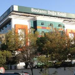 Photo taken at Bostancı Doğa Koleji by Ibrhm O. on 10/18/2012