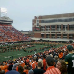 Photo taken at Boone Pickens Stadium by James B. on 9/15/2012