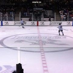 Photo taken at Schneider Arena by Becky C. on 2/17/2013