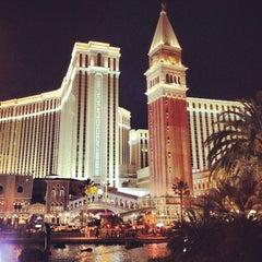 Photo taken at Venetian Resort & Casino by Dr. C. on 5/8/2013