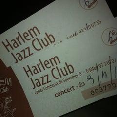 Photo taken at Harlem Jazz Club by Maria S. on 11/9/2012