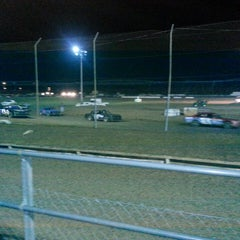 Photo taken at Canyon Speedway by Tony S. on 8/18/2013