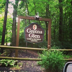 Photo taken at Gretna Glen Camp by Lisa R. on 7/21/2013