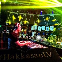 Photo taken at Hakkasan Las Vegas Nightclub by @_katrinab on 5/4/2013